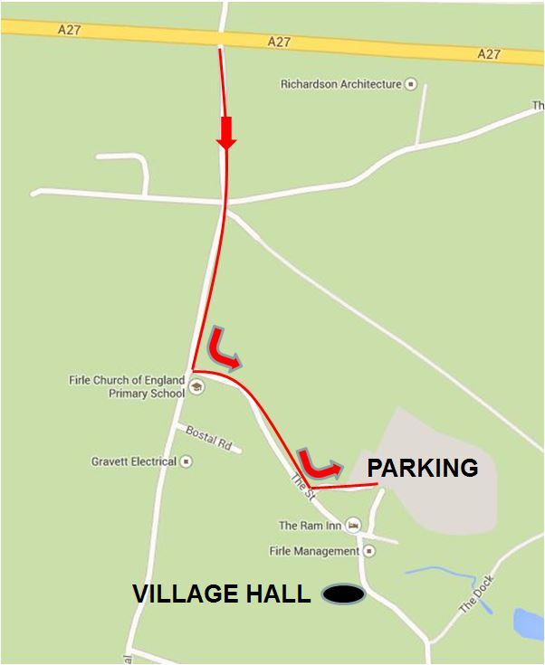 Village Hall Parking